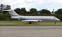 N949GP @ EGGW - Global Express at Luton - by Terry Fletcher