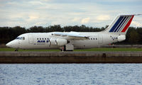 EI-RJM @ EGLC - CityJet operating Air France franchise into London City