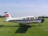 G-SIXT @ EGST - PA-28 visiting the Elmsett fly-in - by Simon Palmer