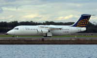 D-AEWA @ EGLC - Eurowings BAE146 at London City