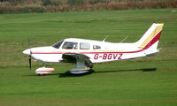 G-BGVZ @ EGCB - Piper Pa-28-140 photographed at Manchester Barton Open Day in Sept 2008