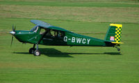 G-BWCY @ EGCB - 1996 Rebel photographed at Manchester Barton Open Day in Sept 2008