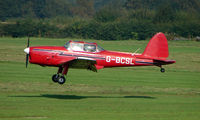 G-BCSL @ EGCB - 1951 DHC Chipmunk photographed at Manchester Barton Open Day in Sept 2008