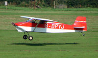 G-BPYJ @ EGCB - Wittman Tailwind photographed at Manchester Barton Open Day in Sept 2008