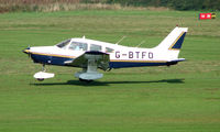 G-BTFO @ EGCB - Piper Pa-28-161 photographed at Manchester Barton Open Day in Sept 2008