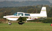 G-BCPN @ EGCB - Grumman AA-5 photographed at Manchester Barton Open Day in Sept 2008