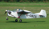 G-CBZS @ EGCB - 2003 Aurora photographed at Manchester Barton Open Day in Sept 2008