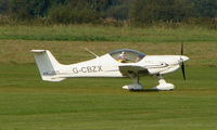 G-CBZX @ EGCB - photographed at Manchester Barton Open Day in Sept 2008