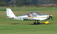G-CCEM @ EGCB - EV-97 Eurostar photographed at Manchester Barton Open Day in Sept 2008