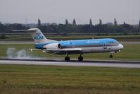 PH-JCH @ VIE - Fokker 70