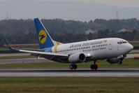 UR-GAK @ VIE - Boeing 737-5Y0 - by Juergen Postl