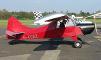G-CCEZ @ EGCB - photographed at Manchester Barton Open Day in Sept 2008