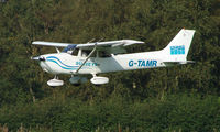 G-TAMR @ EGCB - Cessna 172S photographed at Manchester Barton Open Day in Sept 2008
