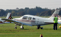 G-BTRT @ EGCB - Piper Pa-28R-200 photographed at Manchester Barton Open Day in Sept 2008