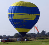 G-RAYO @ EGCB - Linstrand Balloon photographed at Manchester Barton Open Day in Sept 2008