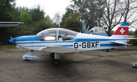 G-GBXF - at a quiet Cambridgeshire  airfield