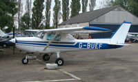 G-BUEF - 1977 Cessna 152 at a quiet Cambridgeshire  airfield