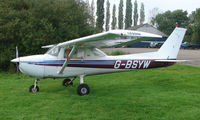 G-BSYW - 1976 Cessna 150M at a quiet Cambridgeshire  airfield