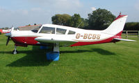 G-BCGS - 1972 Piper at a quiet Cambridgeshire  airfield