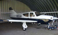 N50AY - Rockwell 114A at a quiet Cambridgeshire  airfield