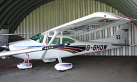 G-GHOW - 1980 Cessna F182Q at a quiet Cambridgeshire  airfield