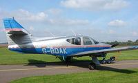 G-BDAK - 1975 Rockwell Commander 112 at a quiet Cambridgeshire  airfield
