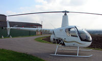 G-BRWD - a1989 Robinson R22 at a quiet Cambridgeshire  airfield