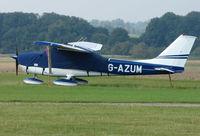 G-AZUM @ EGMA - Cessna F172L at Fowlmere