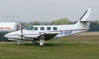 G-IKAP @ EGMA - 1983 Cessna T303 at Fowlmere
