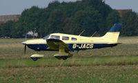 G-JACS @ EGMA - Piper Pa-28-181 at Fowlmere