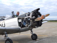 N130PT @ IAG - After several years in storage, the first phoot in a starting attempt - by Jim Uber