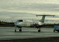 C-GKGA @ CYYR - Beech 1900 hauling cargo to Goose Bay