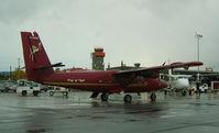 C-GDQY @ CYYR - Many turbo-props visit Goose Bay - by John J. Boling