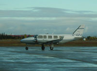 C-GZIJ @ CYYR - Charter flight at Goose Bay - by John J. Boling