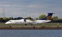 D-ADHA @ EGLC - Lufthansa Dash 8 at London City