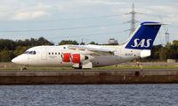 SE-DJY @ EGLC - SAS Bae 146  in London City