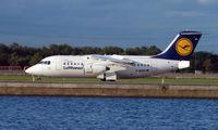 D-AVRO @ EGLC - Lufthansa RJ85 Avro at London City