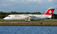 HB-IXT @ EGLC - Swiss Bae 146 at London City