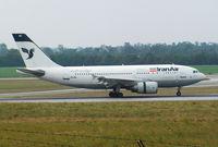 EP-IBK @ VIE - Iran Air Airbus A310-304