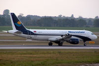 TS-INI @ VIE - Nouvelair Airbus A320-212