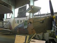 BAPC186 - DH82 Queen Bee preserved at London Colney - by Simon Palmer