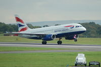 G-EUPK @ EGCC - British Airways - Taking Off - by David Burrell