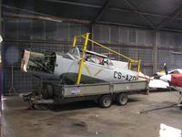 CS-AZO - Chipmunk awaiting restoration at Spanhoe - by Simon Palmer