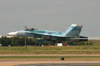 164628 @ AFW - Fighting Omar's F/A-18C Aggressor at Alliance - Fort Worth - by Zane Adams