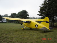 N957DW @ MI73 - Sitting nicely after a cross country - by luscombe1946