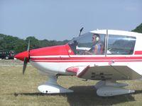 D-EAPF @ EGHL - Robin DR400 - by Simon Palmer