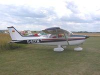 D-EIYW @ EGMA - Cessna at Fowlmere - by Simon Palmer