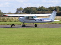 G-BOKY @ EGTC - Previous ID: N67409 - by Chris Hall