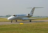 D-CTEC @ EGHH - Cessna 525B Citation CJ3 - by Les Rickman