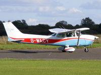 G-WACY @ EGTC - Wycombe Air Centre Ltd - by Chris Hall